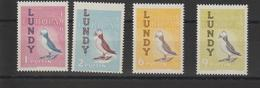 Europa 1962 Lundy 4 Val ** MNH - 1962
