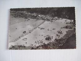 CPSM  Plestin-les-Grèves Tossen-an-Hoz  La Plage Des Curés 1949 TBE - Plestin-les-Greves
