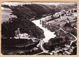 X42061 Peu Commun PINAY En AVION Au Dessus.. Gorges De La LOIRE Digue 1950s Photo-Bromure  LAPIE N°1 - France