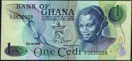 GHANA - 1 Cedi 02.01.1976 {Year Without Serifs} UNC P.13 C(1) - Ghana