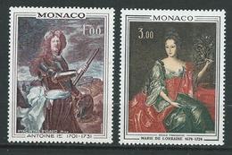 MONACO 1972 . N°s 874 Et 875 . Neufs  ** (MNH) - Neufs