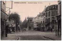 92 - B24753CPA - BOURG LA REINE - Boulevard Carnot - Tramway, Tabac - Très Bon état - HAUTS-DE-SEINE - Bourg La Reine