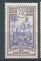 Océanie   - Yvert N°   34 *  -  Bce 21029 - Ungebraucht