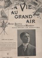 LA VIE AU GRAND AIR 12 08 1900 - CHAH DE PERSE - MEUDON - TROLLEYBUS - BOULOGNE SUR MER - - Livres, BD, Revues