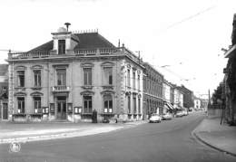 Anderlues - Maison Communale Et Rue Albert 1er (Edit. Papeterie Samain, Oldtimer, Cox) - Anderlues