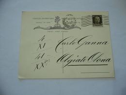 CARTOLINA AUTOGRAFATA DON.G.LEONI FAMIGLIA UNIVERSITARIA MILANO OLGIATE OLONA - Guerra 1914-18