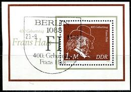 DDR - Mi Block 61 = 2547 - OO Gestempelt (A) - Frans Hals - Oblitérés