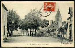 Cpa  Aubigny  Porte Ste Anne - Aubigny Sur Nere