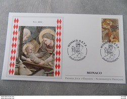 FDC MONACO 2012 : Noël 2012 (Timbre De 0.60 Euro) - FDC