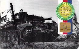 Czech Republic - SPT - World War II - Dunkerque, Not Symmetric Red Gem1B, 02.95, 100U, 50.000ex, Used - República Checa