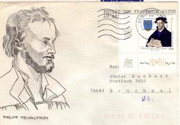 D+ Deutschland 1997 Mi 1902 Philipp Melanchthon (UNIKAT / ÙNICO / PIÉCE UNIQUE / JEDINEČNÝ) - BRD