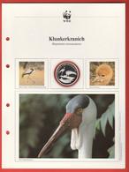 30 JAHRE WWF Silber Gedenkmünze Silver Coin / Ag 999 PP / Vögel Birds Oiseaux Klunkerkranich Bugeranus Carunculatus - Münzen