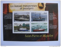 Saint Pierre Et Miquelon: TB BF N°12, Neuf XX. - Blocchi & Foglietti