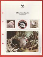 30 JAHRE WWF Silber Gedenkmünze Silver Coin / Ag 999 PP / Vögel Birds Oiseaux Mauritius-Taube Nesoenas Mayeri - Münzen