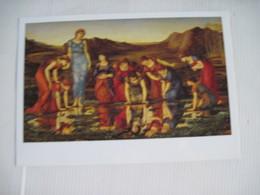 MAXI CPSM   MIRROR OF VENUS Sir Edward Burne-Jones Gulbenkian Museum 205 X 145  TBE - Pittura & Quadri