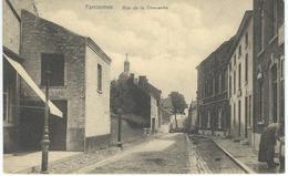 FARCIENNES : Rue De La Chaussée - TRES RARE CPA - Farciennes