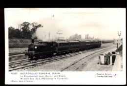 C1285 ENGLAND - SURREY - NECROPOLIS FUNERAL TRAIN TO BROOKWOOD NEAR DURNSFOR ROAD - Surrey