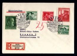028-GERMAN EMPIRE-MILITARY REGISTERED COVER BERLIN To BREMEN.1939.WWII.DEUTSCHES REICH.Brief EINSCHREIBEN. - Lettres & Documents