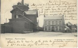 DENDERLEEUW : Place De La Station - Cachet De La Poste 1905 - Denderleeuw