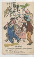 """Humour. Ivrognes. Hommes Accoudés Au Comptoir: """"J'croyais Qu'le Docteur T'avait Défendu L'Pernod..."""" - Humour"""