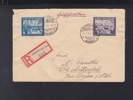 Dt. Reich KLV Lager Brauerei Neumayer Pattendorf Rottenburg 1944 - Germania