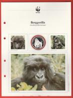 30 JAHRE WWF Silber Gedenkmünze Silver Coin / Ag 999 PP / Tiere Animals Animaux Berggorilla Gorilla Beringei - Münzen