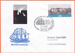 GERMANIA - GERMANY - Deutschland - ALLEMAGNE - BUNDESPOST - 2003 - 110 Schleswig-Holsteinscher Landtag + Special Cancel - [7] Repubblica Federale
