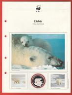 30 JAHRE WWF Silber Gedenkmünze Silver Coin / Ag 999 PP / Tiere Animals Animaux Eisbär Ursus Maritimus - Münzen