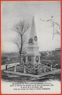 CPA 21 Monument De TALANT-les-DIJON Souvenir Des Combats De Novembre 1870 1871 Armée Des Vosges GARIBALDI * Militaria - France