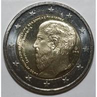 GRECE - 2 EURO 2013 - ACADEMIE DE PLATON - SUP/FDC - - Grèce