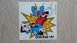 Adidas-Aufkleber Mit Goofy Von Walt Disney - Aufkleber