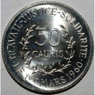 GUINEE - 50 CAURIS 1971 - FLEUR DE COIN - KM 42 - - Guinea