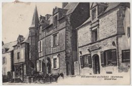 56 - B55558CPA - ROCHEFORT EN TERRE - Grand Rue - LERNO, Boucher - Bon état - MORBIHAN - Rochefort En Terre