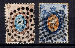 Russie YT N° 5 Oblitération Tula Et N° 6 Oblitération Oufa. B/TB. A Saisir! - 1857-1916 Imperio