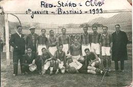 Photo Originale BASTIA 1933 Football RED STAR RRR - Sports