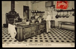 CPA 75 (PARIS) N°14 FONDATION ROSSINI LA CUISINE ANIMEE A.P.  ELD - Salud, Hospitales