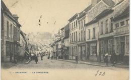 .1 - GRAMMONT : La Grand'Rue - TRES RARE VARIANTE - Cachet De La Poste 1905 - Geraardsbergen