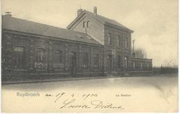 RUYSBROECK : La Station - Nels Série 11 N° 714 - Cachet De La Poste 1905 - Sint-Pieters-Leeuw