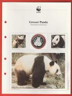 30 JAHRE WWF Silber Gedenkmünze Silver Coin / Ag 999 PP / Tiere Animals Animaux Grosser Panda Ailuropoda Melanoleuca - Münzen