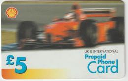 Télécarte Prépayée  Formule 1 Ferrari - Unknown Origin