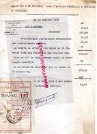 87-ROCHECHOUART-HENRI FOUGERAT AVOUE- AFFAIRE VERGNIAUD RATINAUD SAINT JUNIEN GANTERIE CONTRE CARRIERE-1937 - Petits Métiers