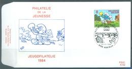 BELGIUM - 20.10.1984 - FDC - SMURF SCHTROUMPF -  RODAN 734 KORTRIJK - COB 2150 -  Lot 19586 - FDC