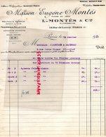 75-PARIS-MAISON EUGENE MONTES 14 RUE LANCRY-PEAUSSERIE PELLETERIE A  VERGNIAUD RATINAUD SAINT JUNIEN GANTERIE 1931 - Petits Métiers
