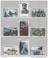 MONACO 1977 - SERIE N° 1084 A 1092 - 9 TP NEUFS** - Monaco