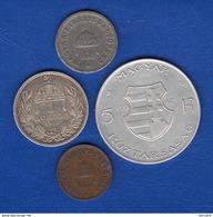 Hongrie  4  Pieces - Hungría