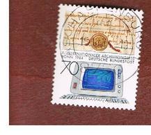 GERMANIA (GERMANY) - SG 2070  - 1984 INT. ARCHIVES CONGRESS  -   USED - [7] République Fédérale