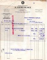 39- FONTAINE -ANNONAY- LETTRE  A. GUILLAUMET A  VERGNIAUD RATINAUD SAINT JUNIEN GANTERIE 1930 - Petits Métiers