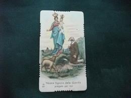 SANTINO HOLY PICTURE IMAGE SAINTE NOSTRA SIGNORA DELLA GUARDIA ORAZIONE - Religione & Esoterismo