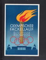 Österreich Olympia PK 1936 - Olympische Spiele