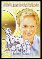 Madagascar 1999 MNH Imperf, Actress, Film, Cinema, Dogs, Glenn Close  (private Issue) - Acteurs